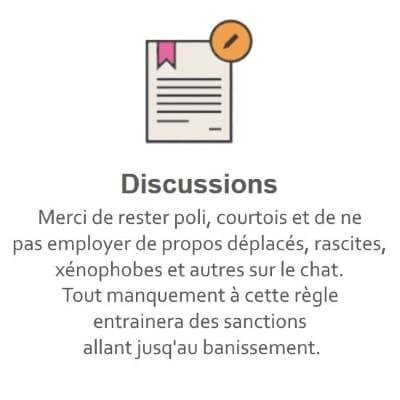 Règles du Tchat Gratuit de Rencontre-Luxe.eu